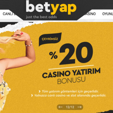 Betyap.com Bahis Seçenekleri